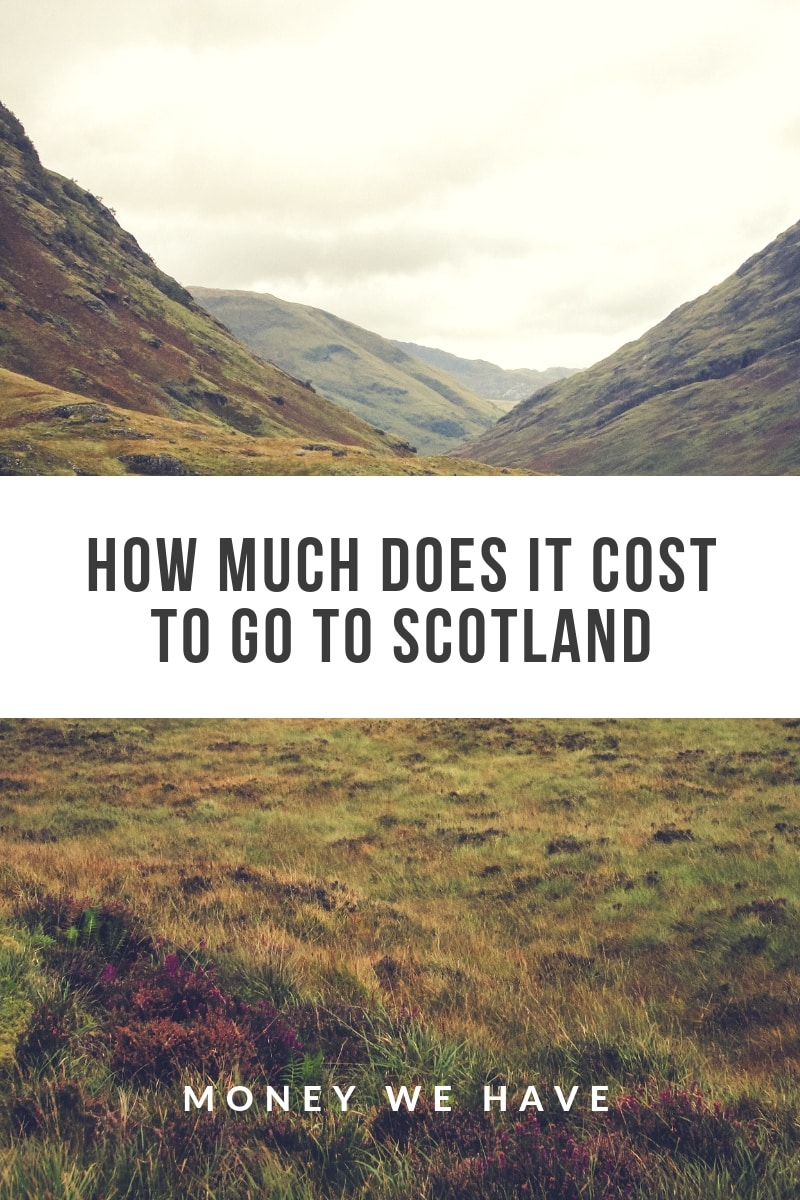 How Much Does it Cost to go to Scotland?