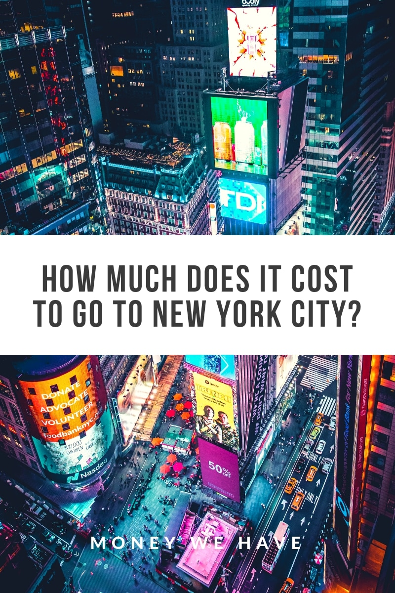 How Much Does it Cost to go to New York City?