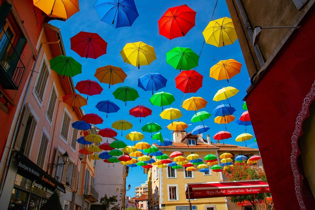 how much does it cost to go to france umbrellas