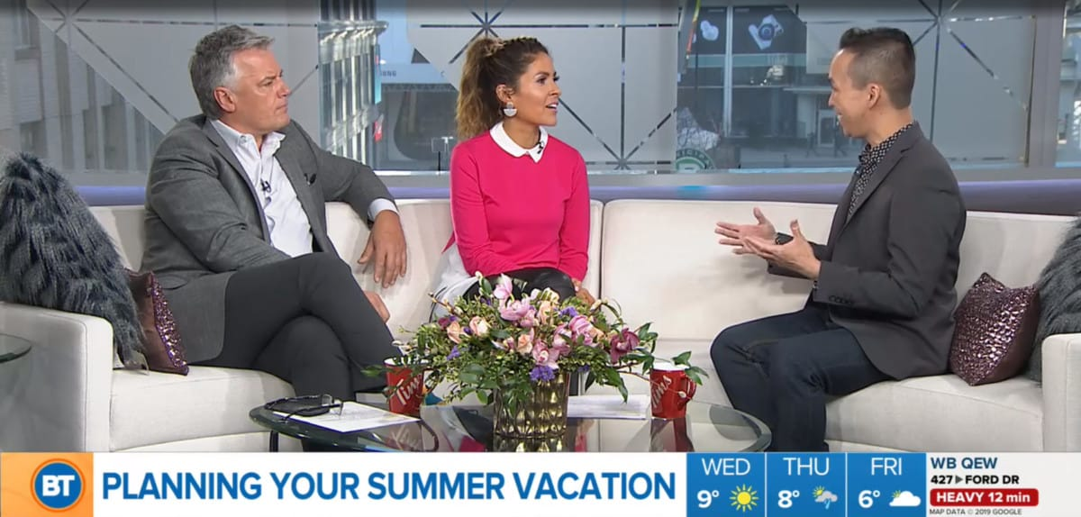 Breakfast Television - Summer Travel