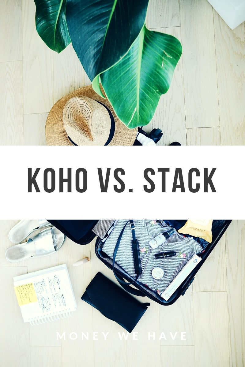 KOHO vs. STACK | Battle of the prepaid credit cards