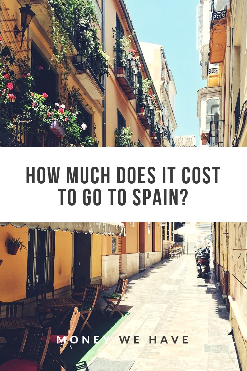 How Much Does it Cost to go to Spain