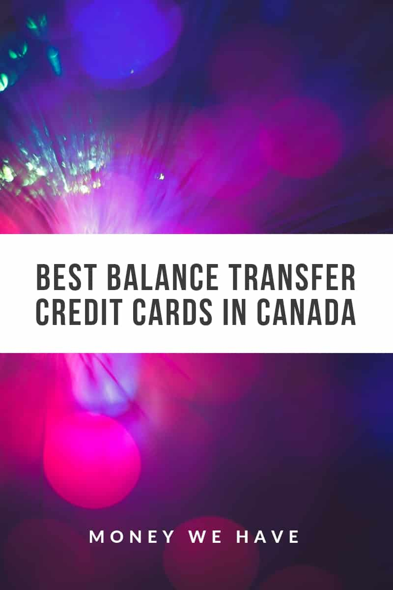 The Best Balance Transfer Credit Cards in Canada