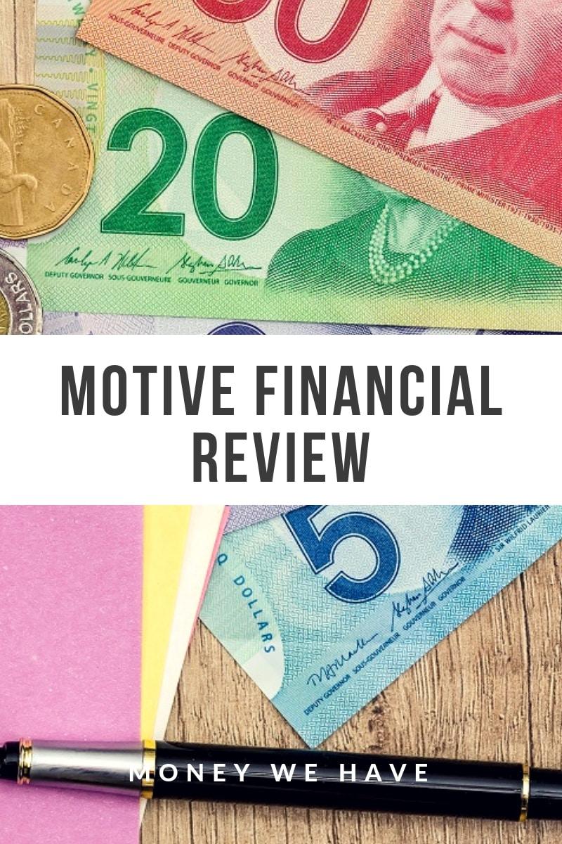 Motive Financial Review