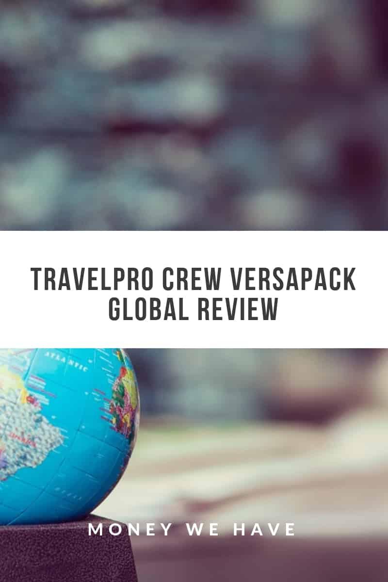 Travelpro Crew Versapack Global Review