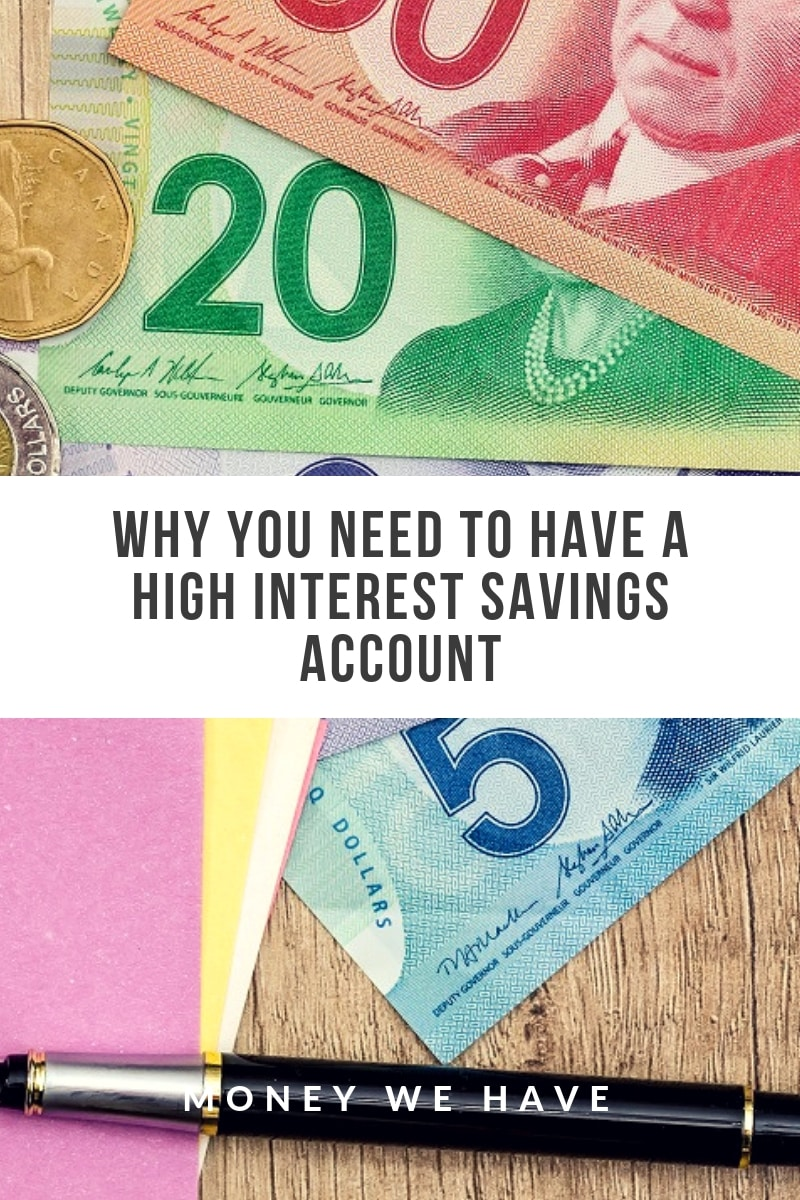 Why You Need to Have a High Interest Savings Account