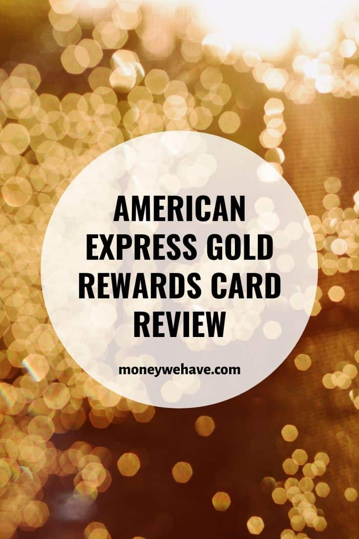American Express Gold Rewards Card Review | Get up to 30,000 welcome points
