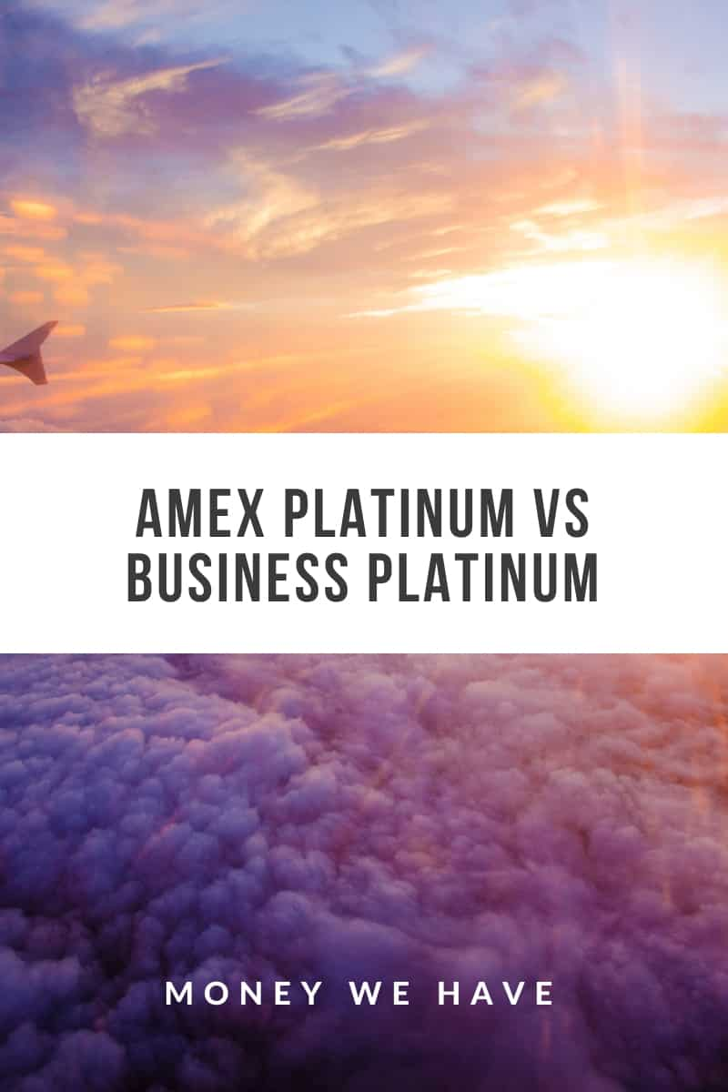 Amex Platinum vs Business Platinum