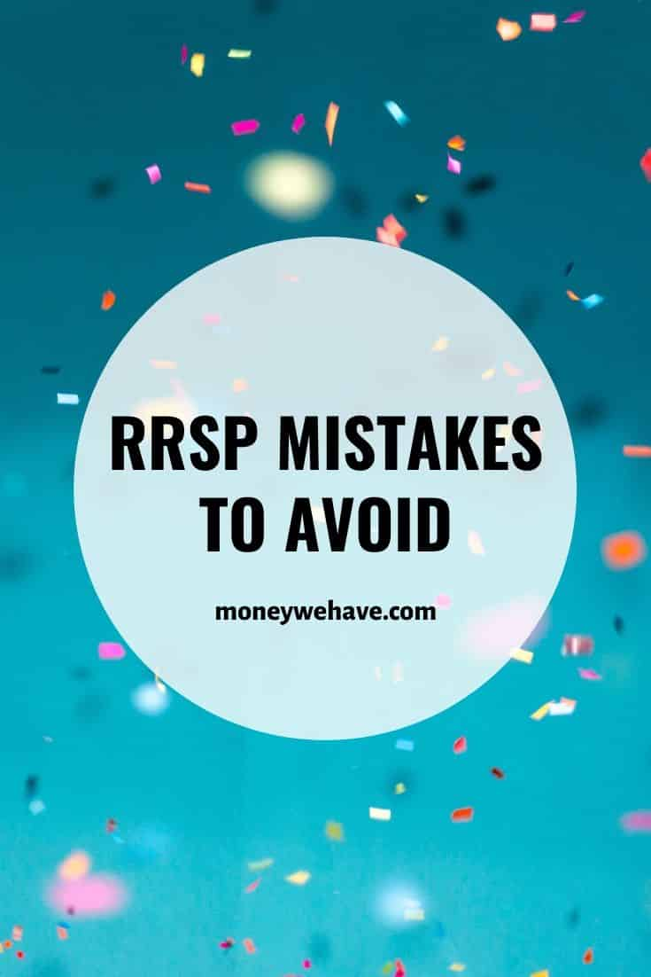 RRSP Mistakes to Avoid
