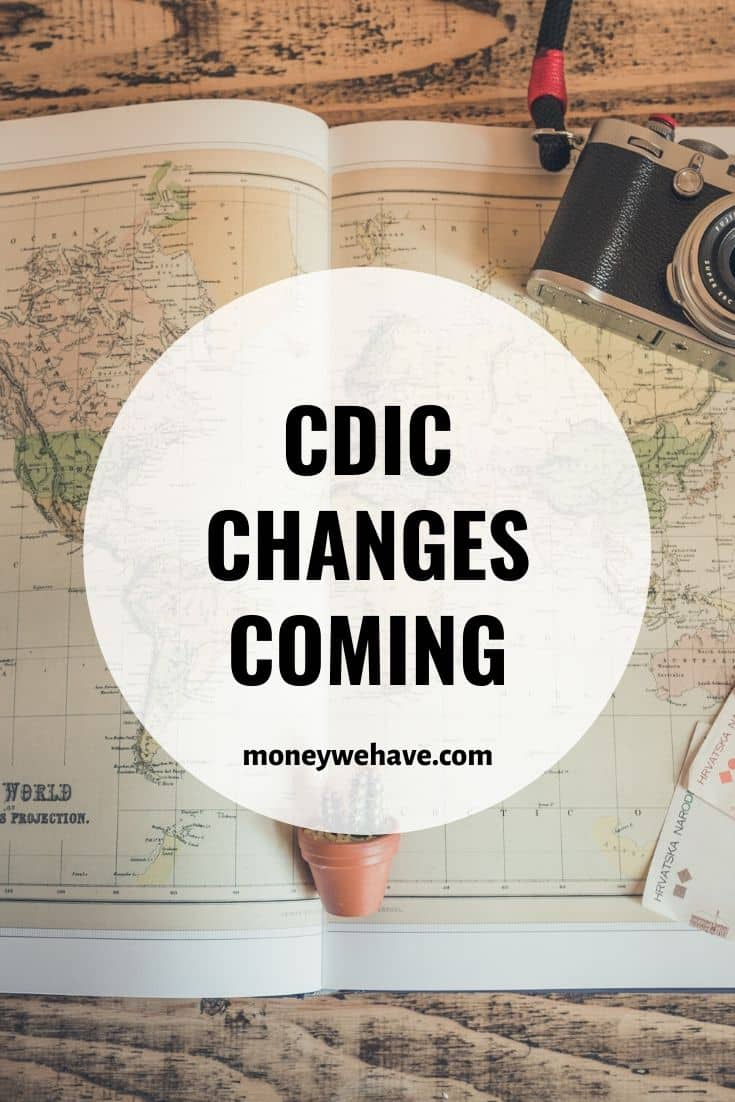 CDIC Changes Coming