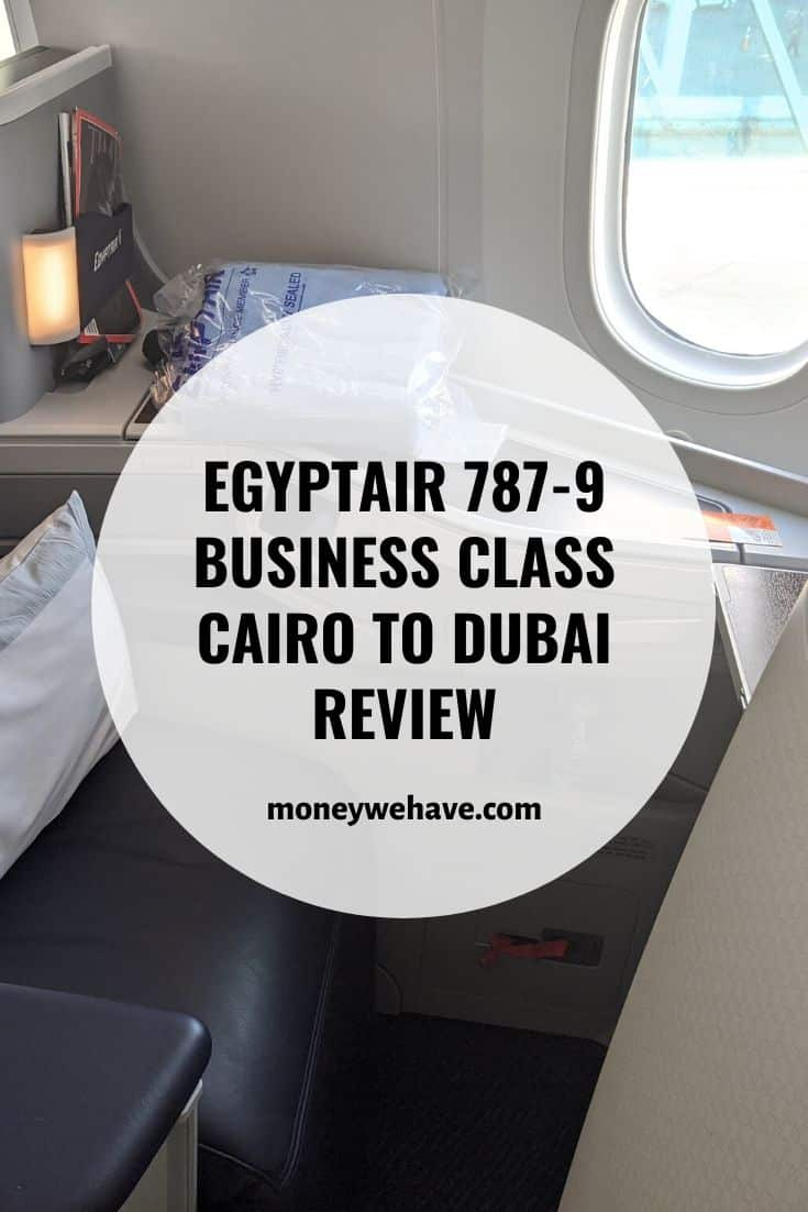 EgyptAir 787-9 Business Class Cairo to Dubai Review