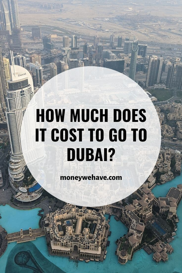 How Much Does it Cost to go to Dubai?