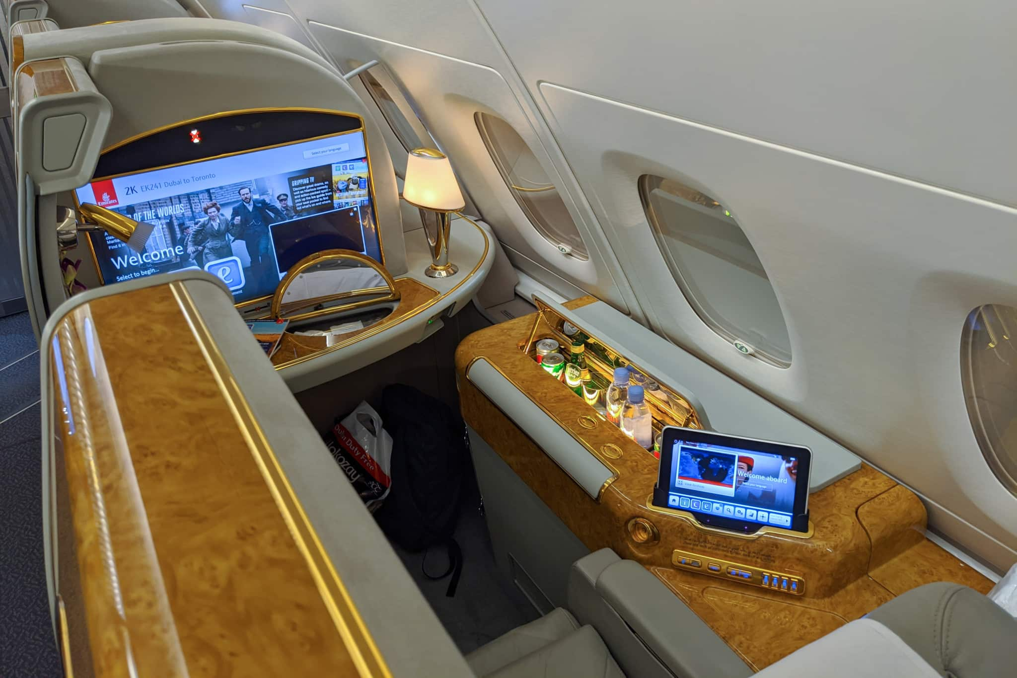 Emirates A380 First Class Dubai To Toronto Review Money We Have
