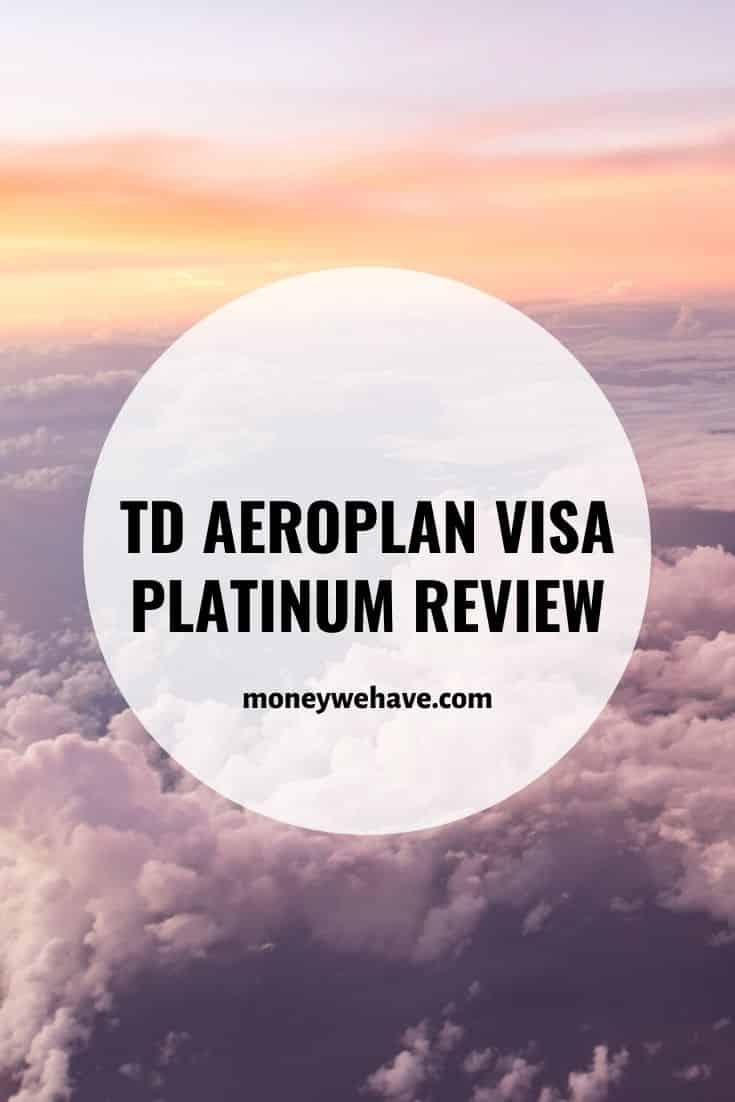 TD Aeroplan Visa Platinum Review