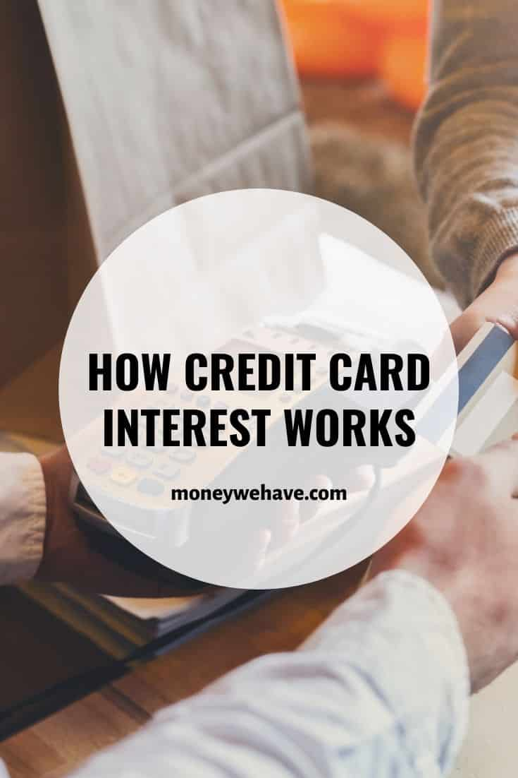How Credit Card Interest Works