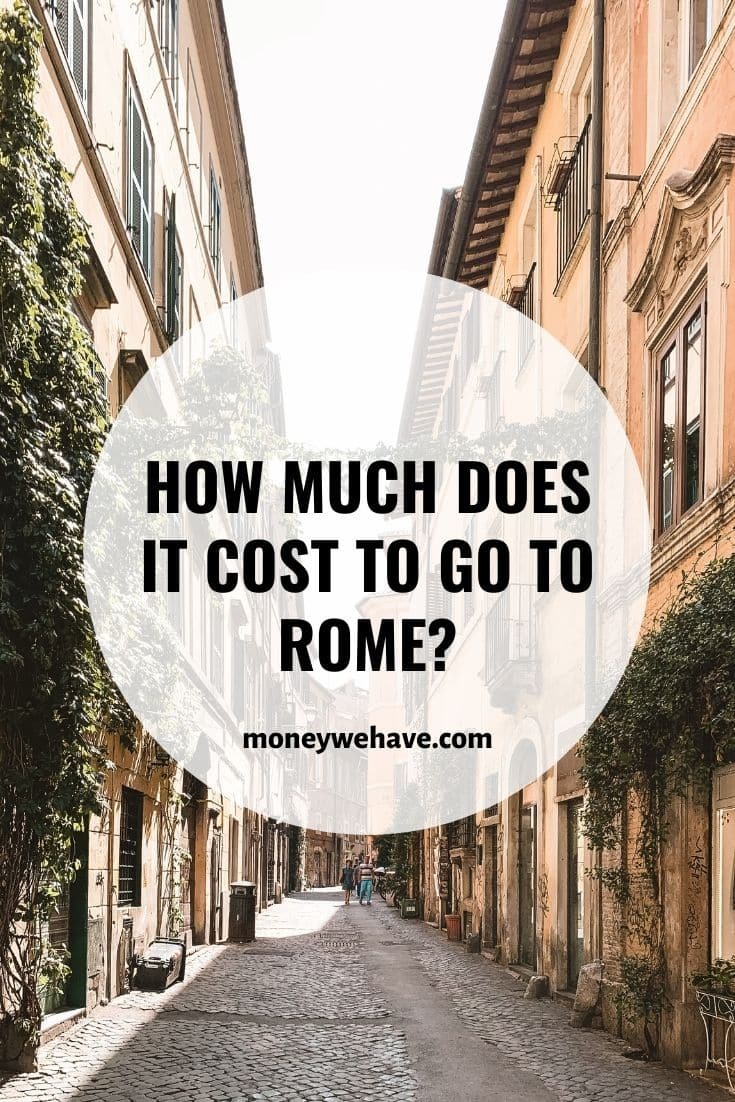 How Much Does it Cost to go to Rome?