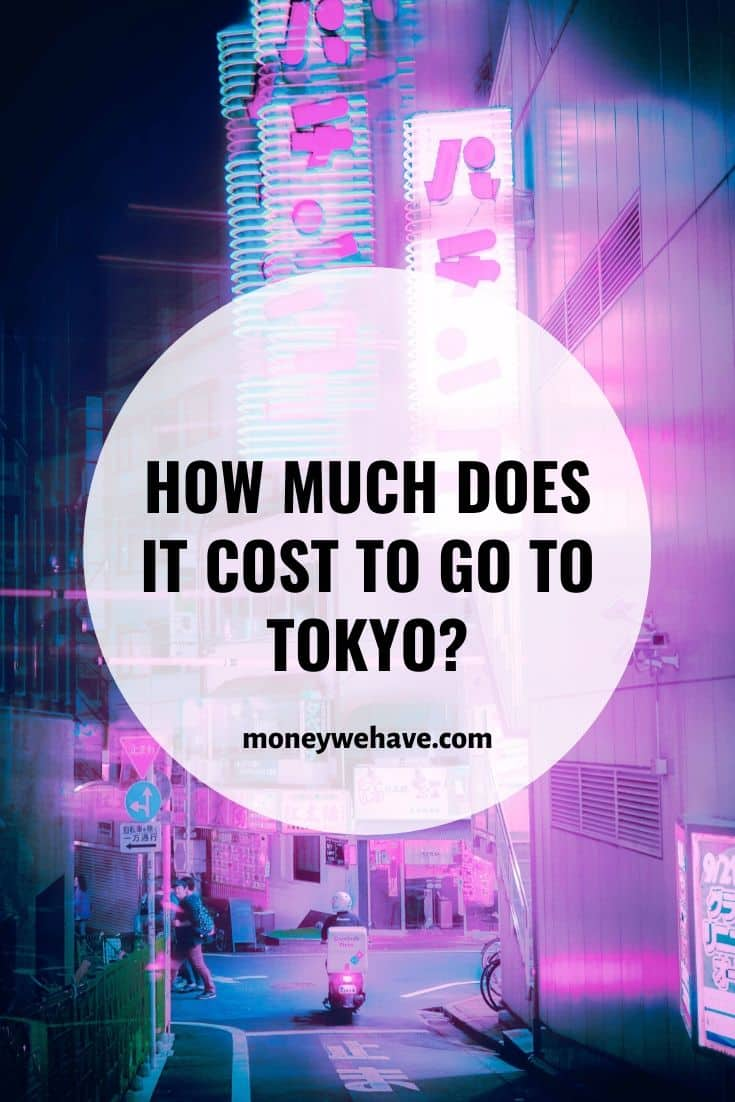 How Much Does it Cost to go to Tokyo?