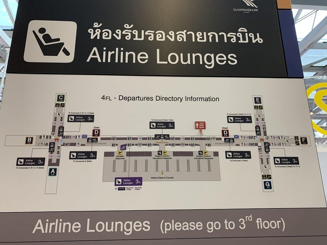 EVA Air Economy Class Boeing 777-300ER Bangkok to Taipei Review Bangkok Airport map