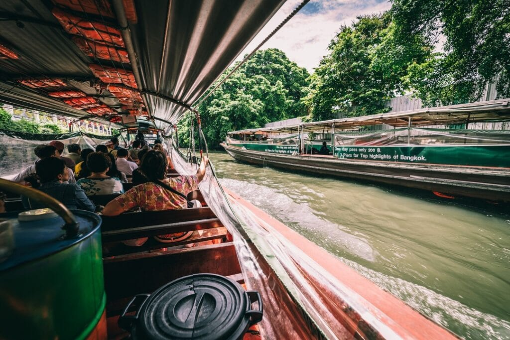 Bangkok trip cost river