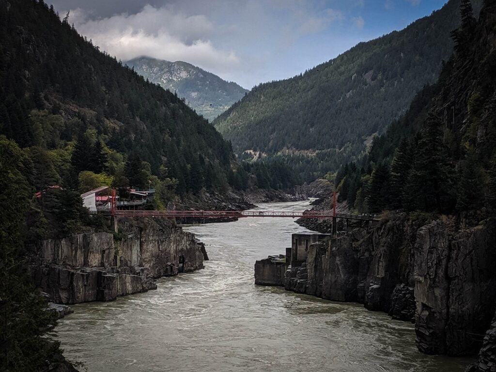 Rocky Mountaineer Review Hells Gate