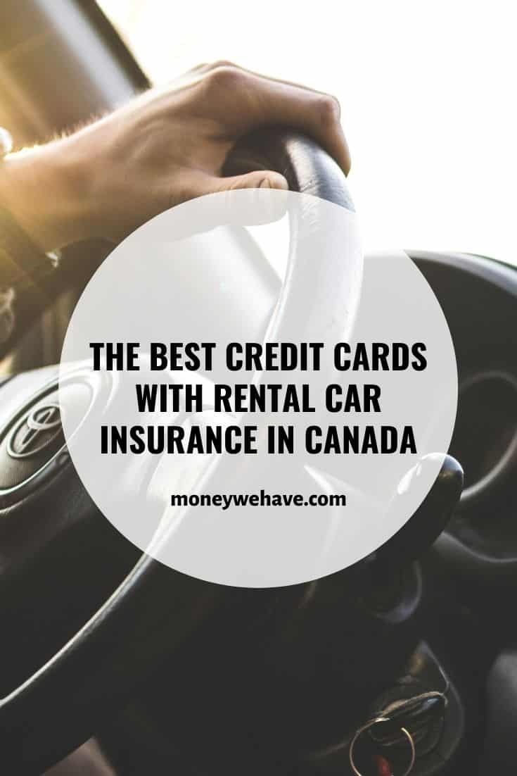 The Best Credit Cards with Rental Car Insurance in Canada