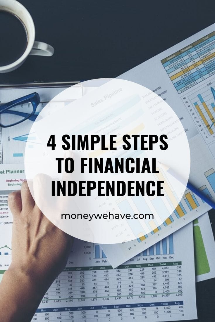 4 Simple Steps to Financial Independence
