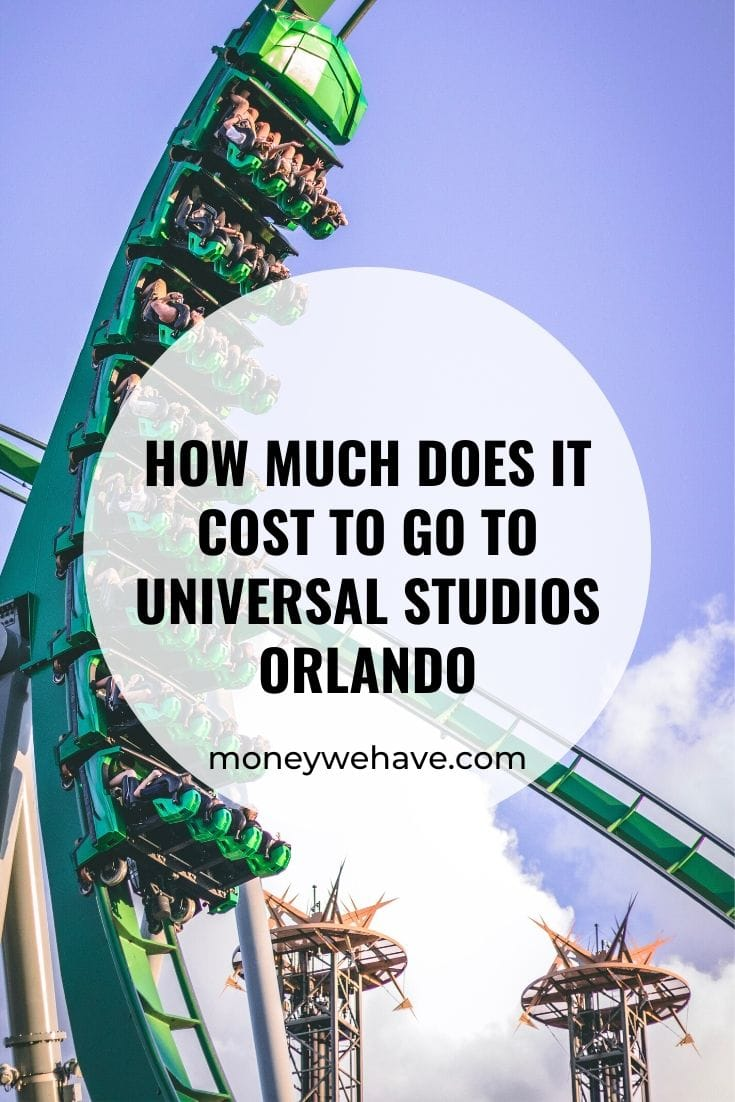 How much does it cost to go to Universal Studios Orlando