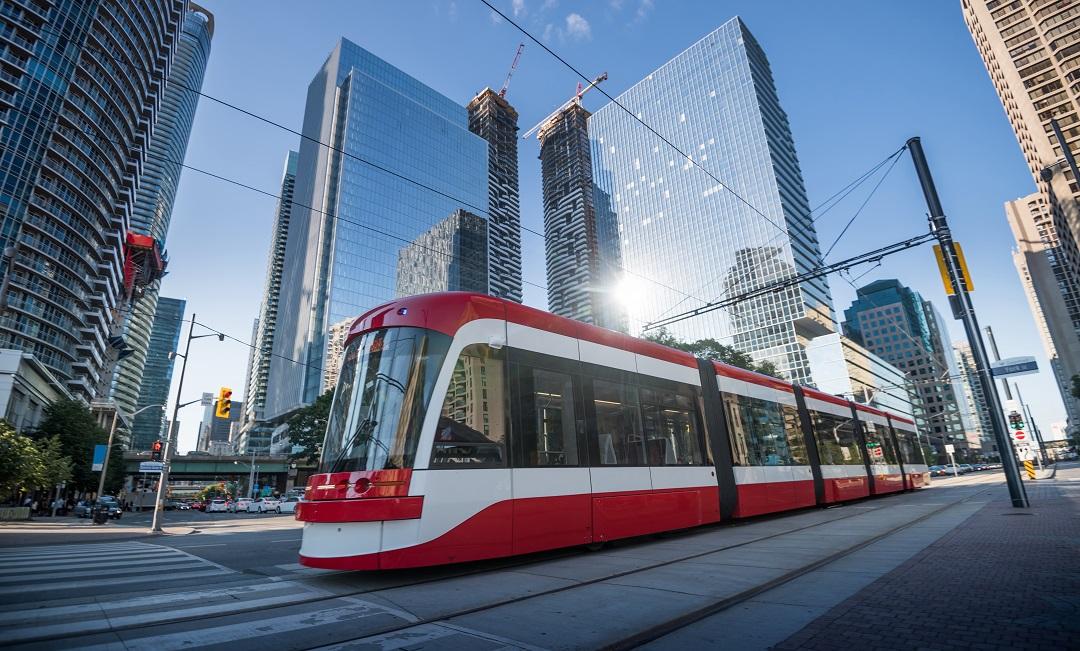 Toronto Public Transportation streetcar