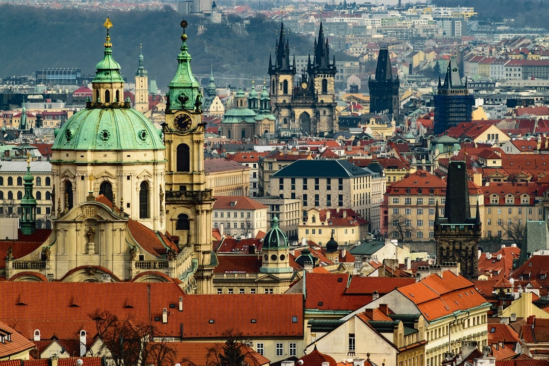 How much does it cost to go to Prague rooftop