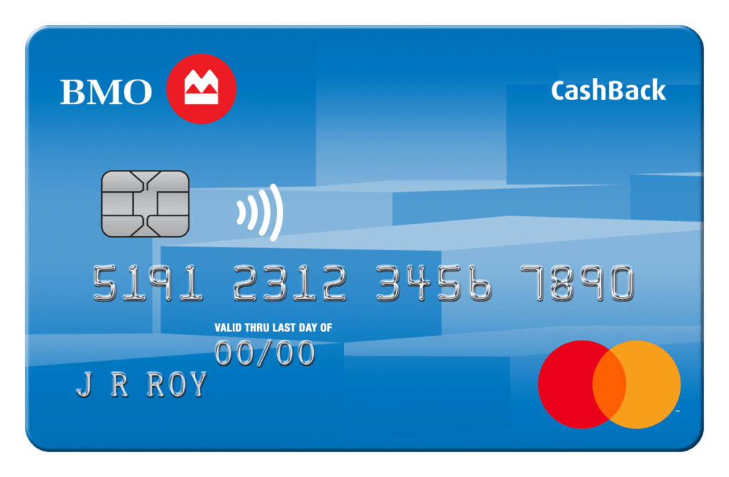 Best BMO credit cards BMO CashBack Mastercard