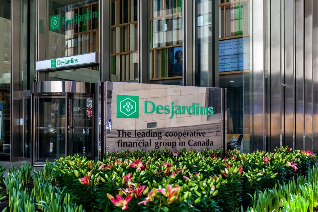 What is a credit union Desjardins