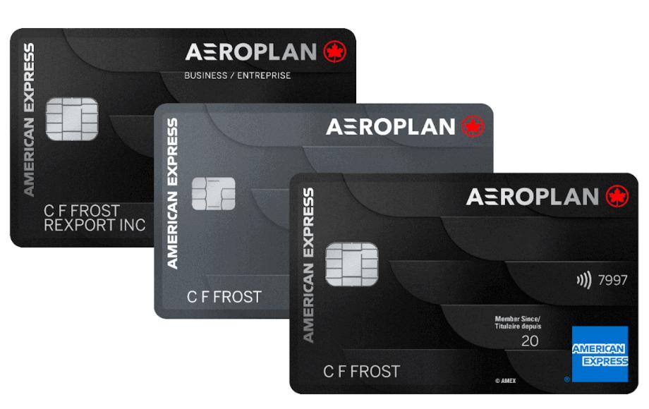 American Express Aeroplan Cards