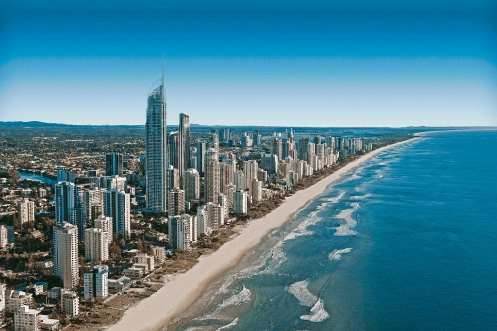 How much does it cost to go to Australia Gold Coast