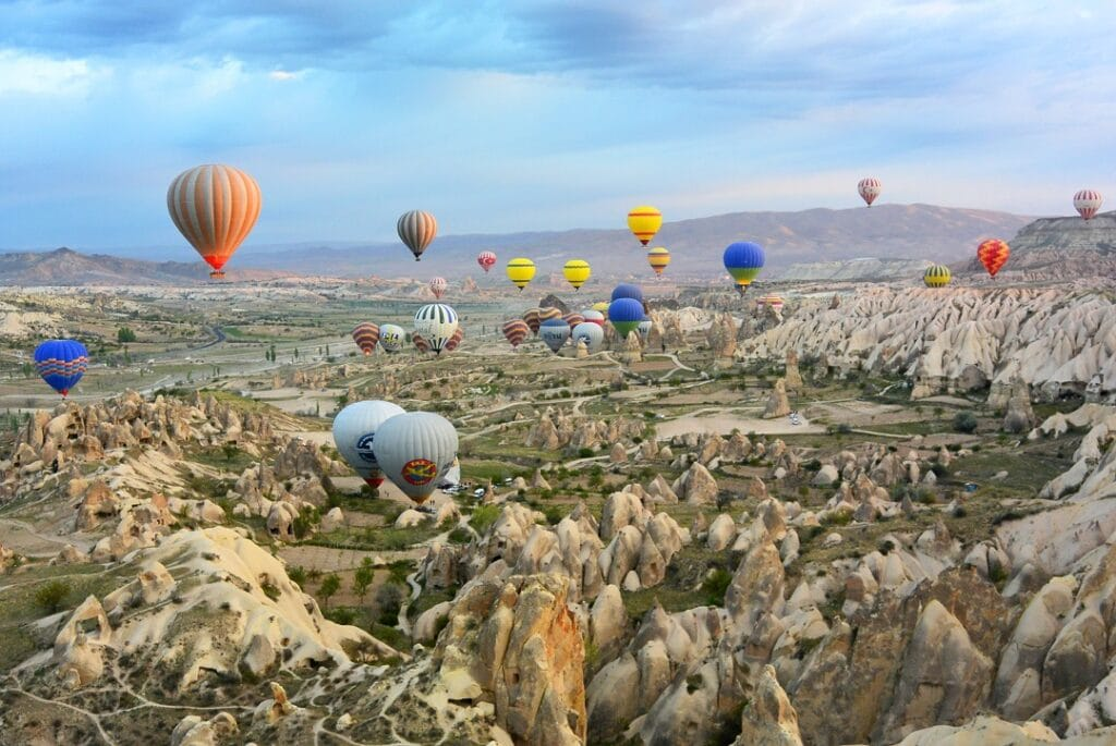 Cost to go to Turkey balloons