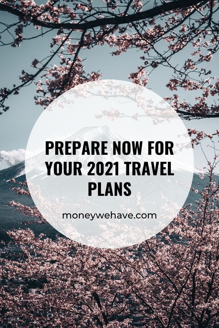 Prepare Now for Your 2021 Travel Plans