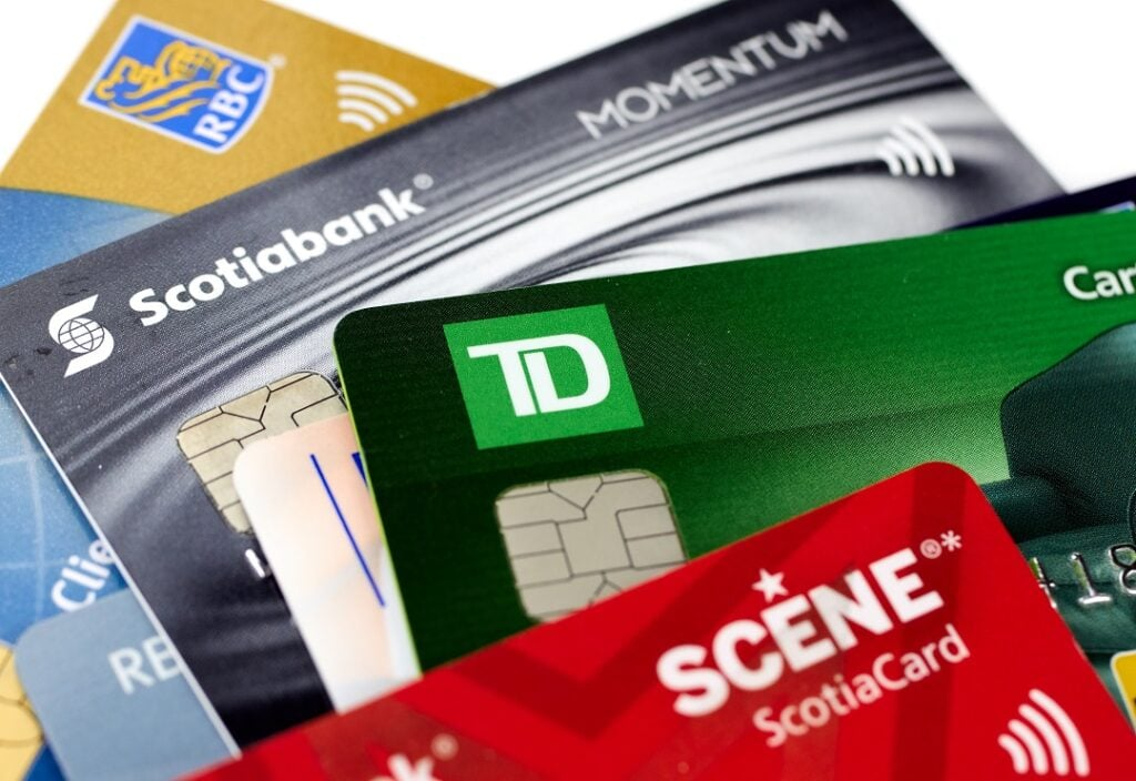 Different types of credit cards