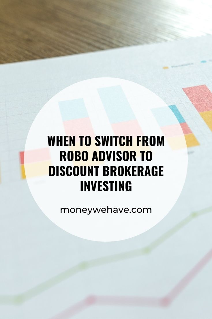 When to Switch from Robo Advisor to Discount Brokerage Investing