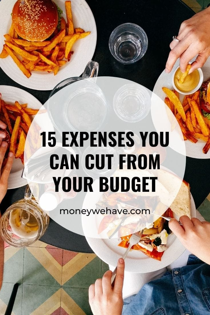 15 Expenses You Can Cut From Your Budget