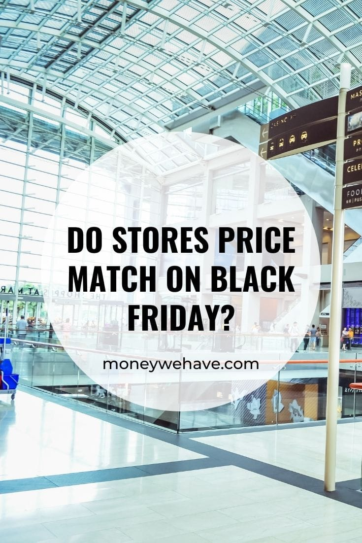 Do Stores Price Match on Black Friday?