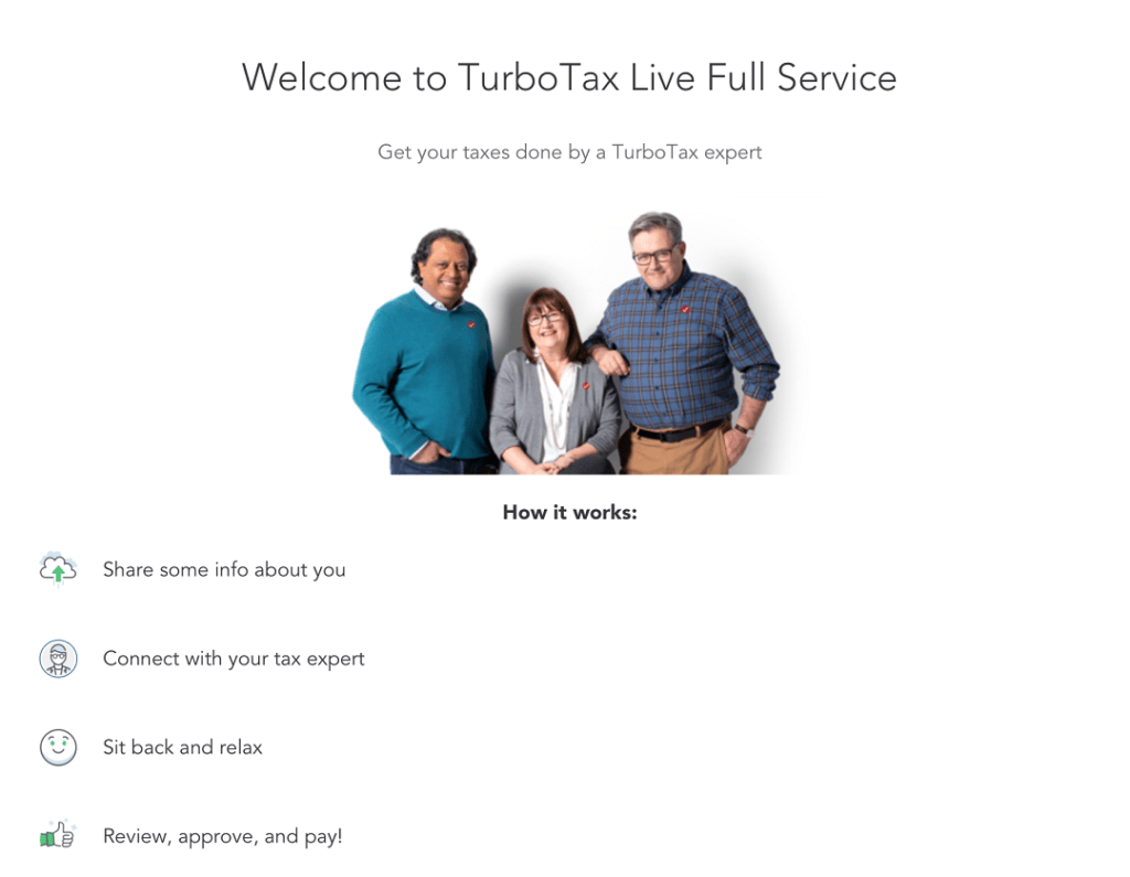 TurboTax Live Full Service Review