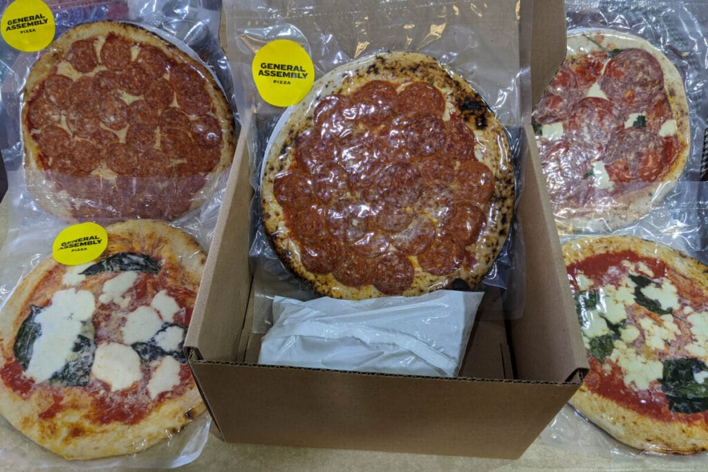 General assembly pizza subscription delivery