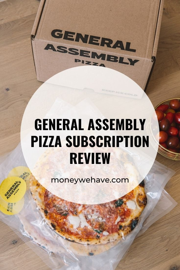 General Assembly Pizza Subscription Review | Get $22 off