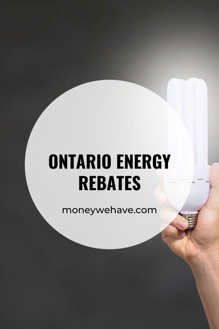 Ontario Energy Rebates