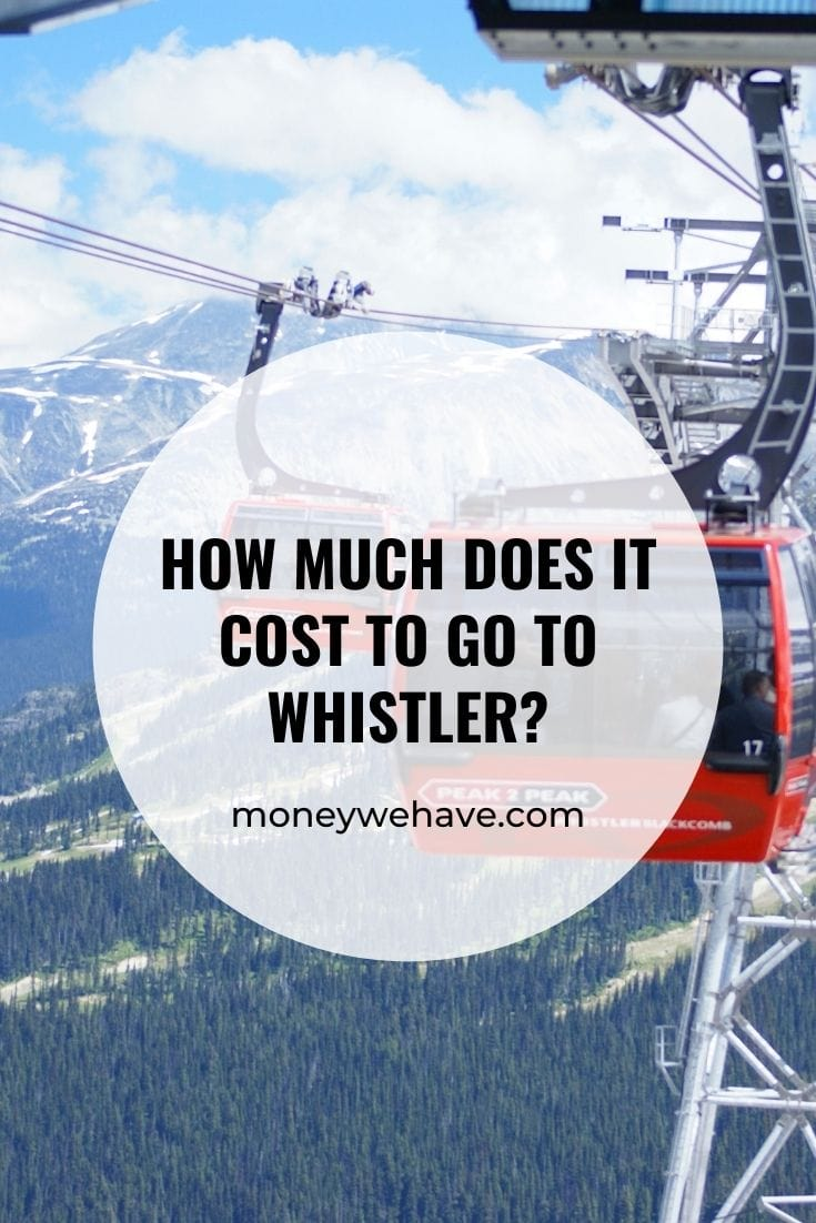 How Much Does it Cost to go to Whistler?