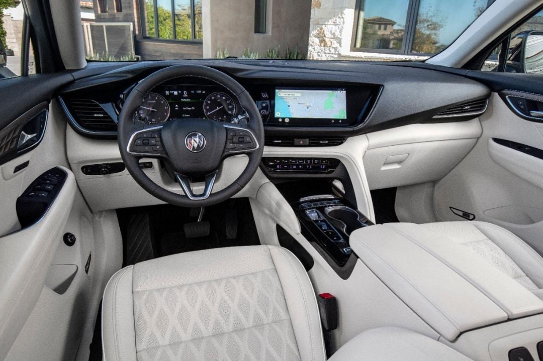 Buick envision interior